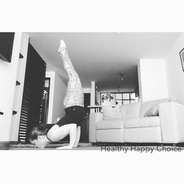 Healthy Happy Choice- Mayurasana