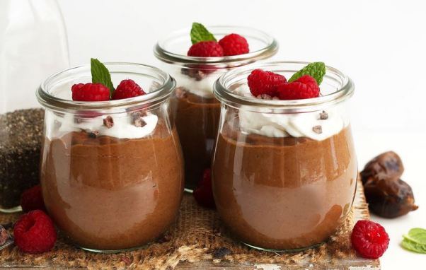 Healthy Happy Choice -Overnight-Chocolate-Chia-Seed-Pudding